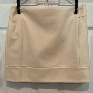J Crew wool pocketed skirt